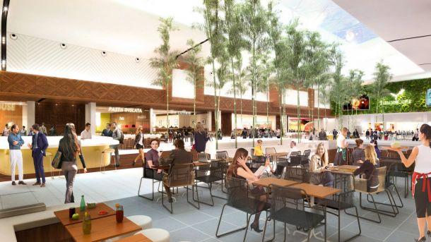 Avec a roville unibail rodamco imagine le futur du retail - Centre commercial roissy ...