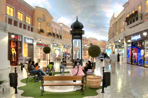 immobilier commercial shopping mall