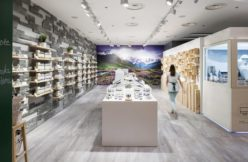 AlpStories robot retail design