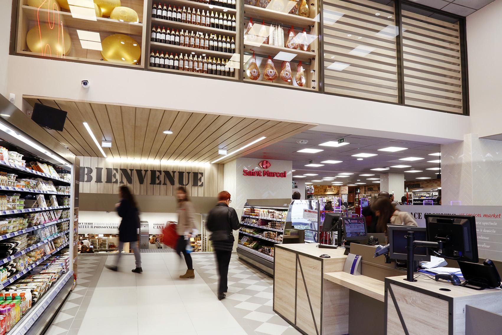 carrefour market retail marketing