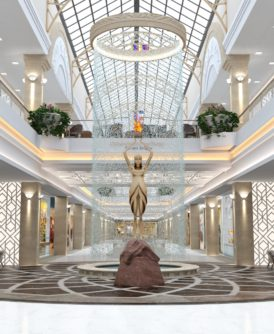 Le shopping avance aussi en Arménie