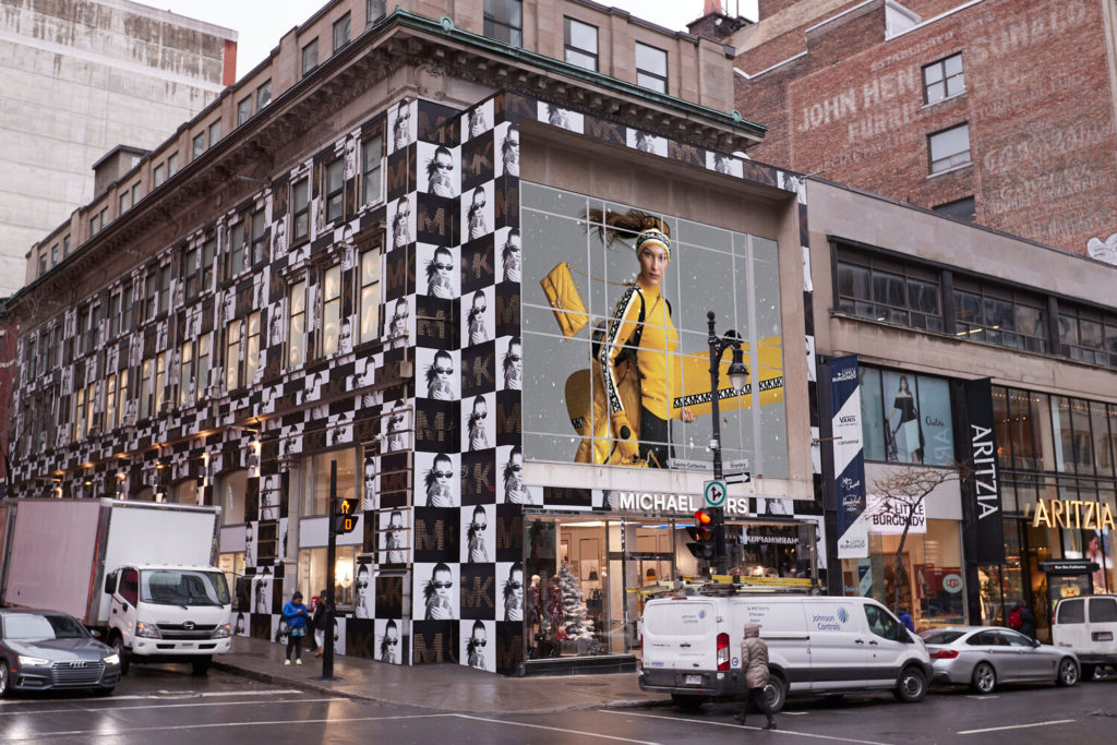 New flagship store pour Micheal Kors