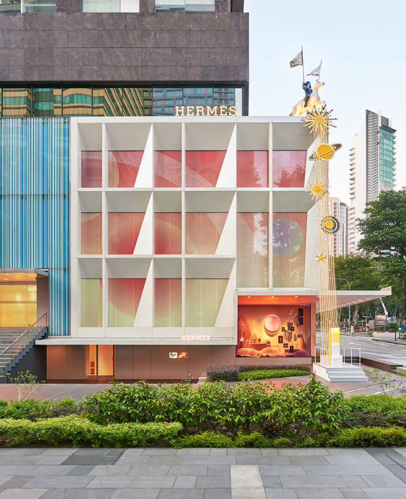 Hermès ouvre son petit h à Singapour