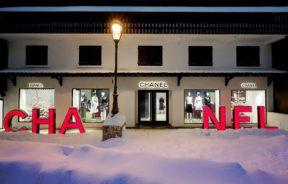 La maison Chanel ouvre sa boutique saisonnière à Courchevel