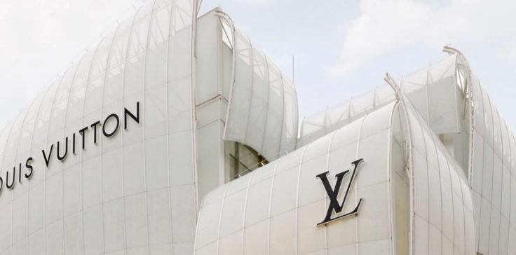Louis Vuitton, LVMH, gonfle les voiles à Osaka