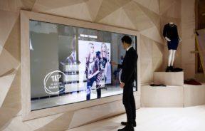 luxe fashion commerce connecte