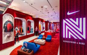 Partenariat entre Nike et Nordstrom à New York City